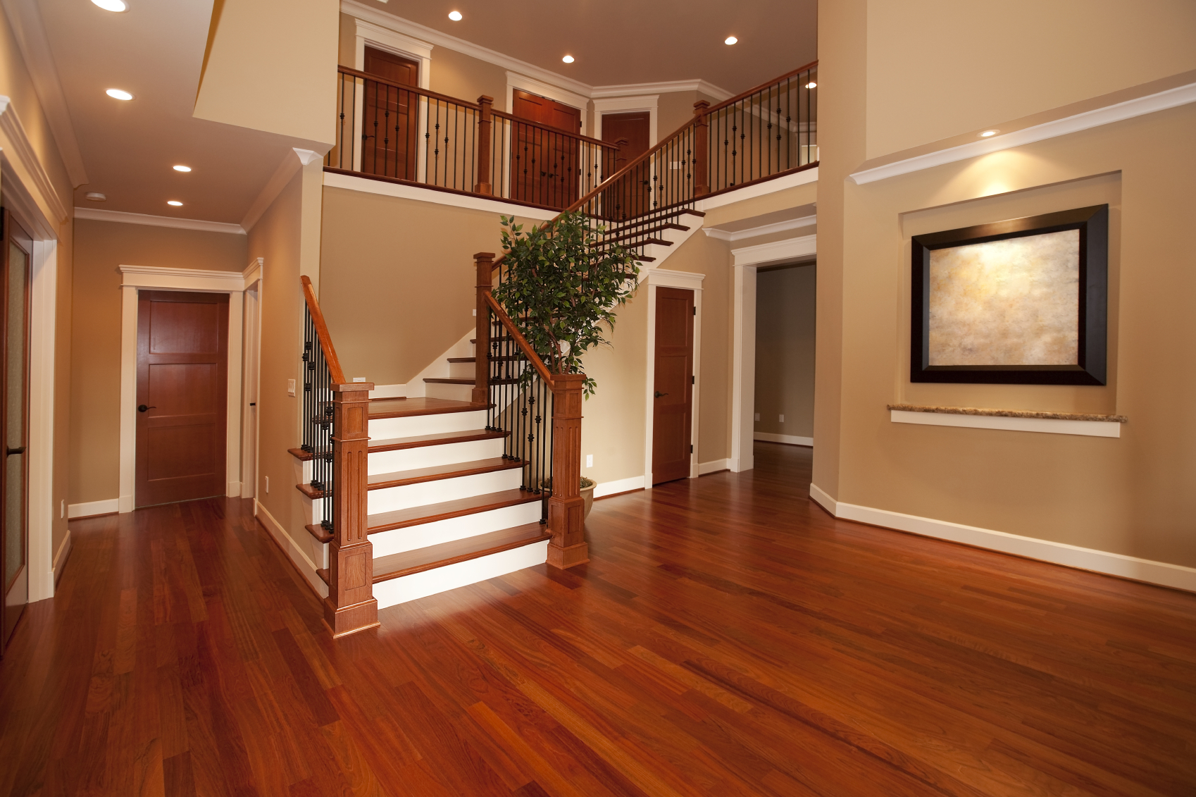 Wooden flooring laminated flooring solid wood flooring for Home flooring